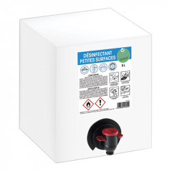 Désinfectant petites surfaces - Bag in box de 5L