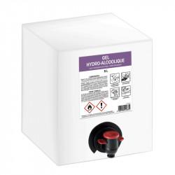 Gel hydro-alcoolique - Bag in box de 5L